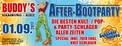 Afterboot-Party am Freitag den 01. September weiterlesen